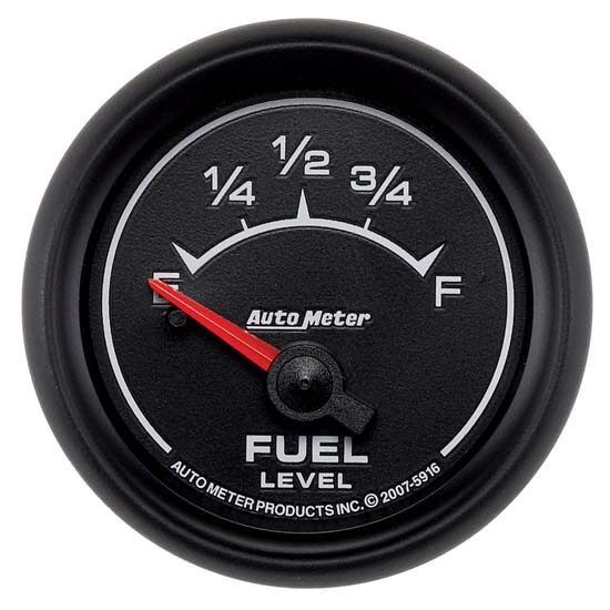 Auto Meter 5916 ES Air-Core Fuel Level Gauge, 2-1/16 Inch