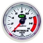 Auto Meter 7374 NV Digital Stepper Motor Nitrous Pressure Gauge