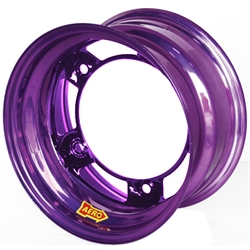 Aero 50-920530PUR 50 Series 15x12 Wheel, 5 on WIDE 5 BP, 3 Inch BS