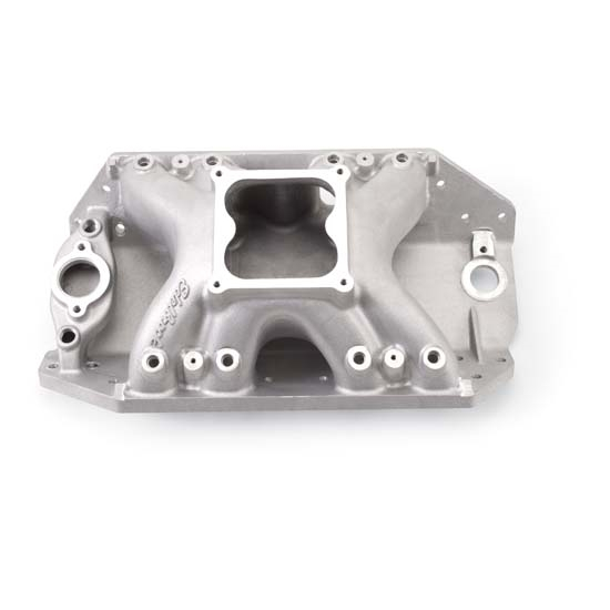 Edelbrock 28065 Big Victor Spread-Port Intake Manifold, BB