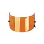 Simpson Shield for Shark & Vudo SA10 Helmet, Amber Shield