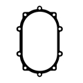 Pro-Eliminator/Winters Rear Cover Gasket, Heavy Duty w/ Steel Core