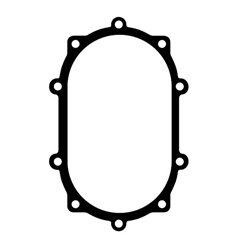 Winters Performance 6729HD Rear Cover Gasket, Heavy Duty w/ Steel Core