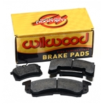 Wilwood 15H-8114K 7420 PolyMatrix H Brake Pad Set, BSL 4 Lug Mt .80 In