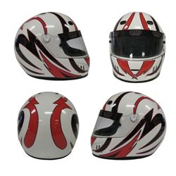 Speedway Changeable Helmet Graphics, Drift