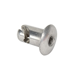 Steel Dome Head Quarter Turn Fasteners