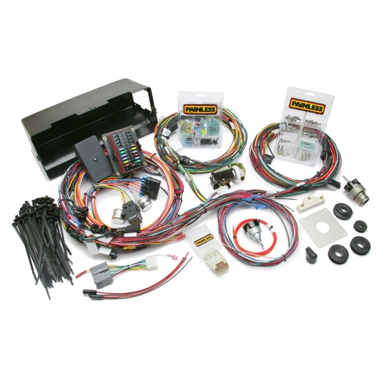 painless wiring 10113 1966 77 ford bronco chassis wiring harness free shipping speedway motors