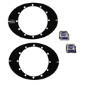 FSR Micro Sprint Direct Mount Toe Plates w/ Tape Measures