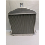 Garage Sale - 1917-1923 T-Bucket Aluminum Radiator, Buffed Finish