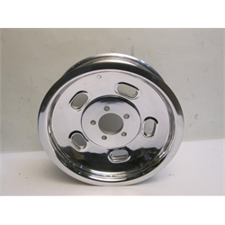 Garage Sale - Circle Racing Gasser Alloy Kidney Bean Wheel, 15 X 4 Inch, Polished