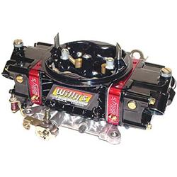 Willys Carbs WCD64002 HP Series Gas 4 Barrel Carburetor, 750 Base