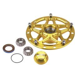 Winters Performance 3980 D-Mount Aluminum Front Hubs, Gold