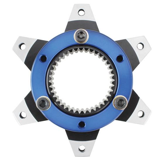 Midget Inboard Brake Hub - 6 on 5 1/2 Inch, 31-Spline Axle