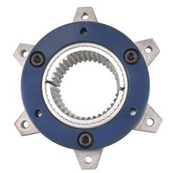 Midget Inboard Brake Hub - 6 on 5 1/2 Inch, 36-Spline Axle