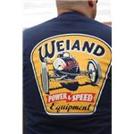 Weiand Blue Retro T-Shirt, good quality