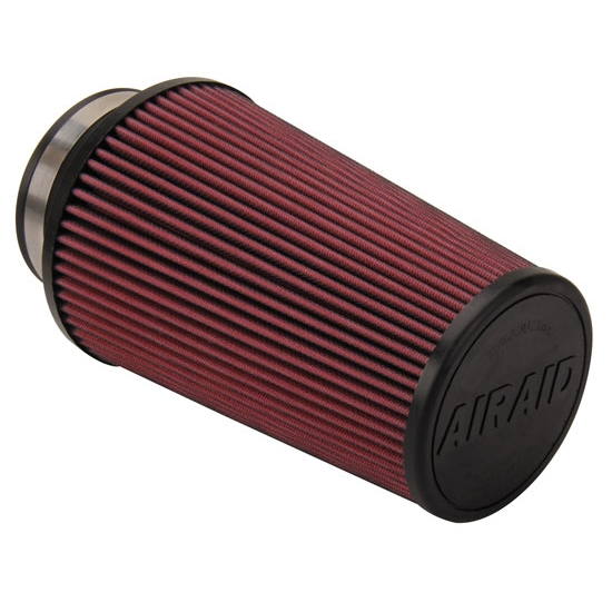 Airaid 700-420 SynthaFlow Air Filter, Red, 9in Tall, Tapered Conical