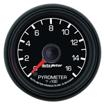Auto Meter 8444 Ford Factory Digital Stepper Motor Pyrometer Gauge