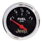 Auto Meter 880428 Jeep Air-Core Fuel Level Gauge, 2-1/16 Inch