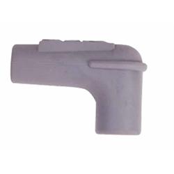 MSD 34515 90 Deg Spark Plug Boot,Gray Silicone, 100each