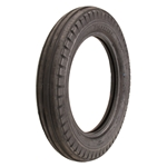 Coker Tire 712280 Firestone Bias Ply Ribbed Front Tire, Dirt Track, 500-18