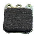Wilwood 150-9756 Full Metallic Brake Pad, Coated