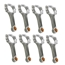 Scat 25400927 Small Block Ford 5.4 Inch I-Beam Connecting Rods