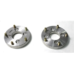 Garage Sale - Aluminum Wheel Adapters, 4 on 4 Inch to 5 on 5-1/2 Inch