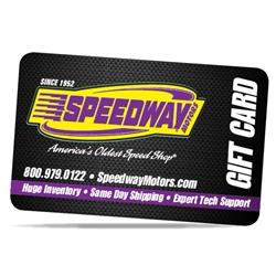 Speedway Motors $19.52 Gift Card