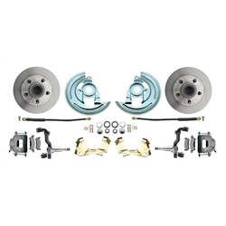 64-72 GM A Body 11 In Disc Brake Conversion Kit, Standard Rotors