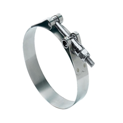 Ideal Heavy Duty T-Bolt Clamp, 2-1/8 Inch Minimum Clamping Diameter