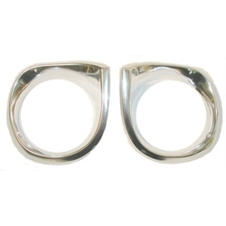 Reproduction Headlight Bezels, 1962-64 Nova, Pair