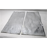 Garage Sale - Aluminized Heat Barrier, 2 Sheets of 40 X 17 Inch