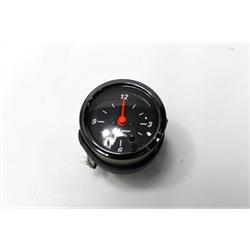 Garage Sale - Auto Meter 1485 Black 12 Volt Electric Clock