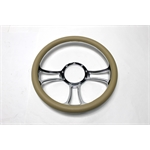 Garage Sale - Chrome Plated Billet Trinity Style Steering Wheel
