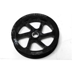 Garage Sale - KRC 50120000 Cast Iron Power Steering Pump Serpentine Pulley 4.2 Inch