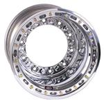 Weld Wide 5 HS Wheel with Outer Beadlock, 15 x 12, 3 Inch Backspace