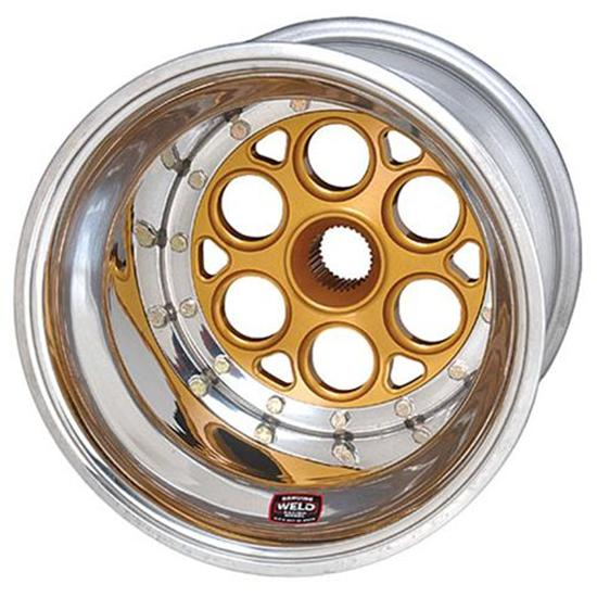 Garage Sale - Weld Racing 734-30834 13x8 Wheel, 4 Inch Offset - Inner Beadlock