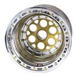 Weld Splined Left Rear Wheel - 15x14, 5 Inch Offset Inner Beadlock