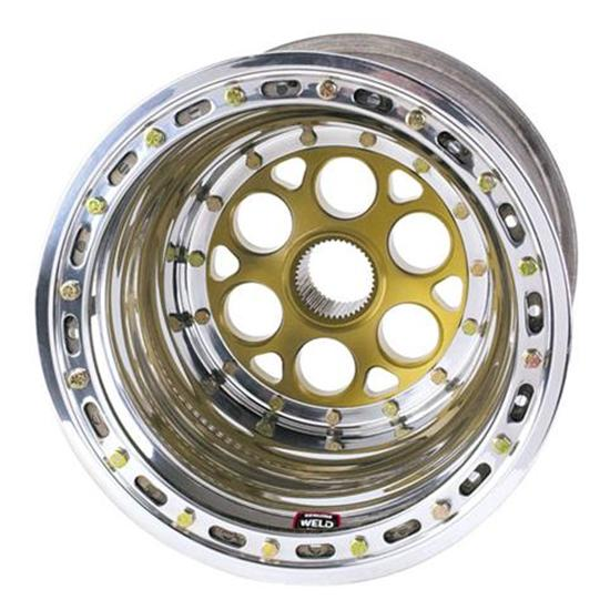 Weld Racing 735-51524 Outer Beadlock Left Rear Wheel 15x15 4 In Offset