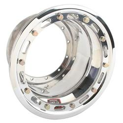 Weld Mini Sprint Magnum Wheel Half, Beadlock, 10 x 6 Inch