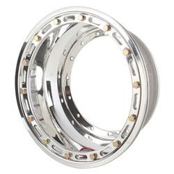 Weld Racing Midget Rear Wheel Inner Half w/ Beadlock, 13 x 3-1/4 Inch