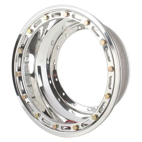 Weld Racing P851-3528 Midget Wheel Inner Half, Beadlock, 13x5-1/4 Inch