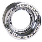 Weld Direct Mount 10 x 6 In Front Wheel - Outer Beadlock, 3 In Offset