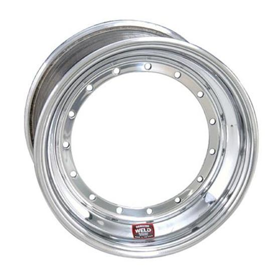 Weld Racing 13 x 7 Direct Mount Front Wheel, Non Beadlock, 4 Inch Offset