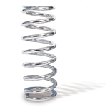 AFCO 27450-1CR 7 Inch Extreme Chrome Coil-Over Spring, 450 Rate