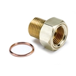 Auto Meter 2275 Temperature Sender Adapter Fitting, Brass, M16x1.5