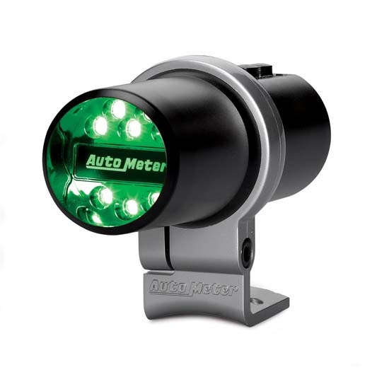Auto Meter 5336 Pit Road Speed Indicator Light, Pedestal, Black