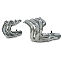 Dynatech® Big Block Chevy Strut Type Dragster headers, Coated, 2-3/8 In