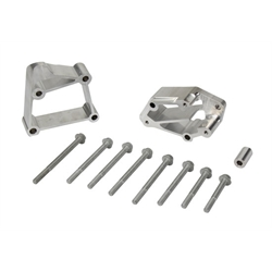 Holley 21-3 LS Acc Drive Bracket Install. Kit, Long, Long Style Pump