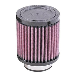 K&N RD-0500 Performance Air Filters, 4in Tall, Round